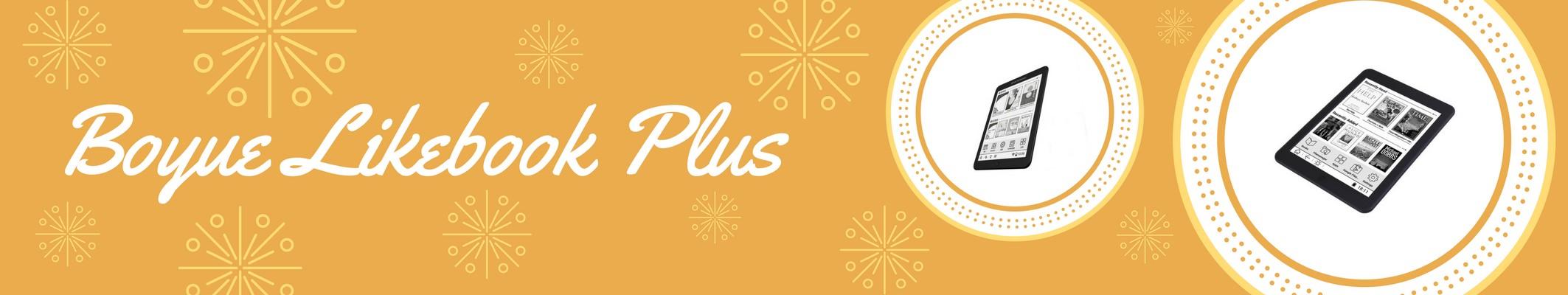 Boyue Likebook Plus to , 7,8-calowy czytnik o rozdzielczości 300ppi,można go kupić na Alliexpres