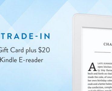 Amazon w ramach programu Trade-in uruchomił promocję, dzięki której możesz otrzymać kartę podarunkową w wysokości 20 dolarów