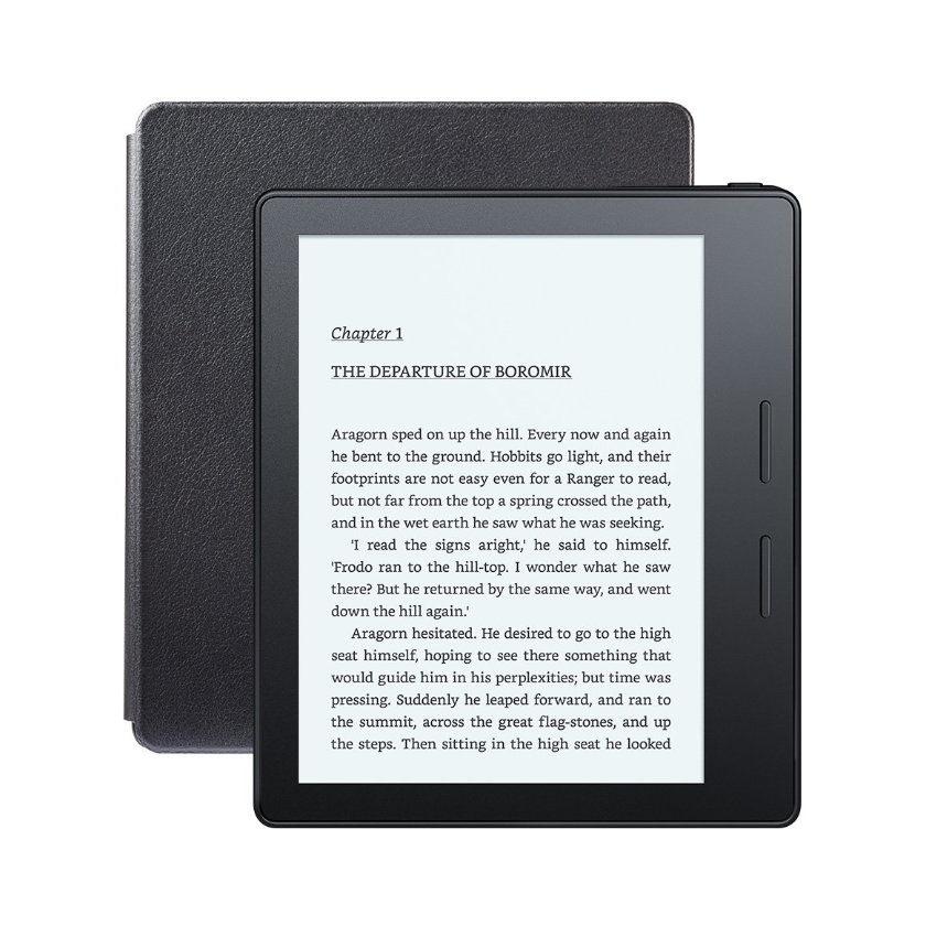 Instrukcja po polsku do e-czytnika Amazonu Kindle Oasis 2016.