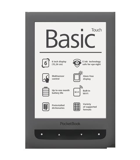 Polska instrukcja w formacie pdf do czytnika Pocketbook Basic Touch.
