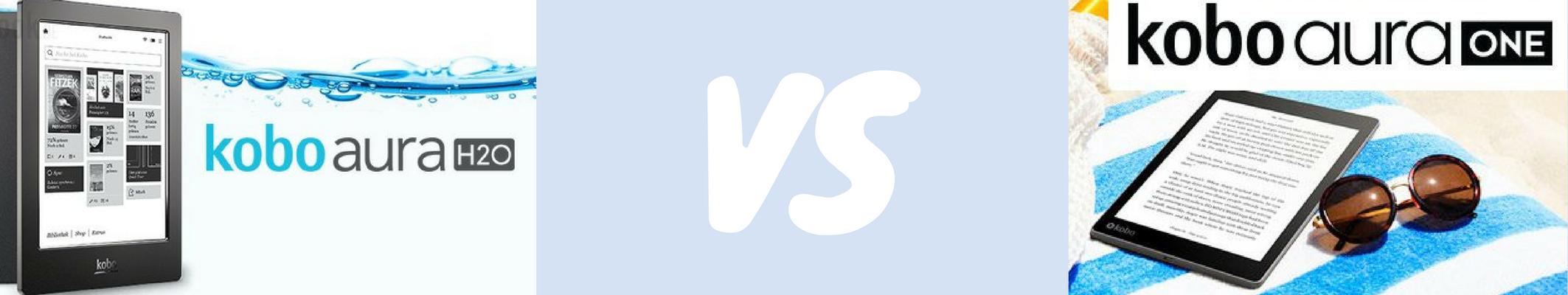 Porównanie czytników Kobo - Kobo Aura One i Kobo H20 edycja 2.
