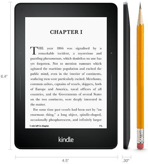 Czytnik na święta Kindle Voyage