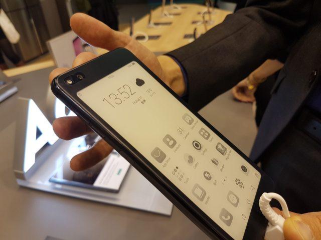 smartfon z ekranem E Ink
