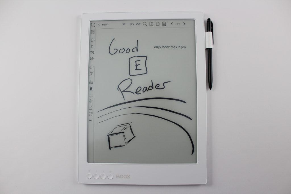 max 2 pro rysowanie na czytniku