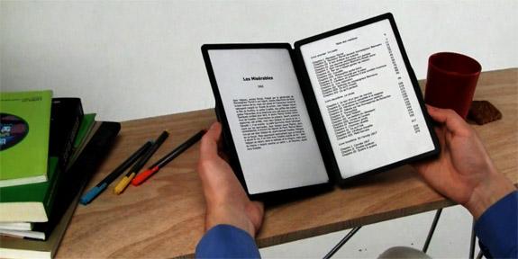 składany czytnik