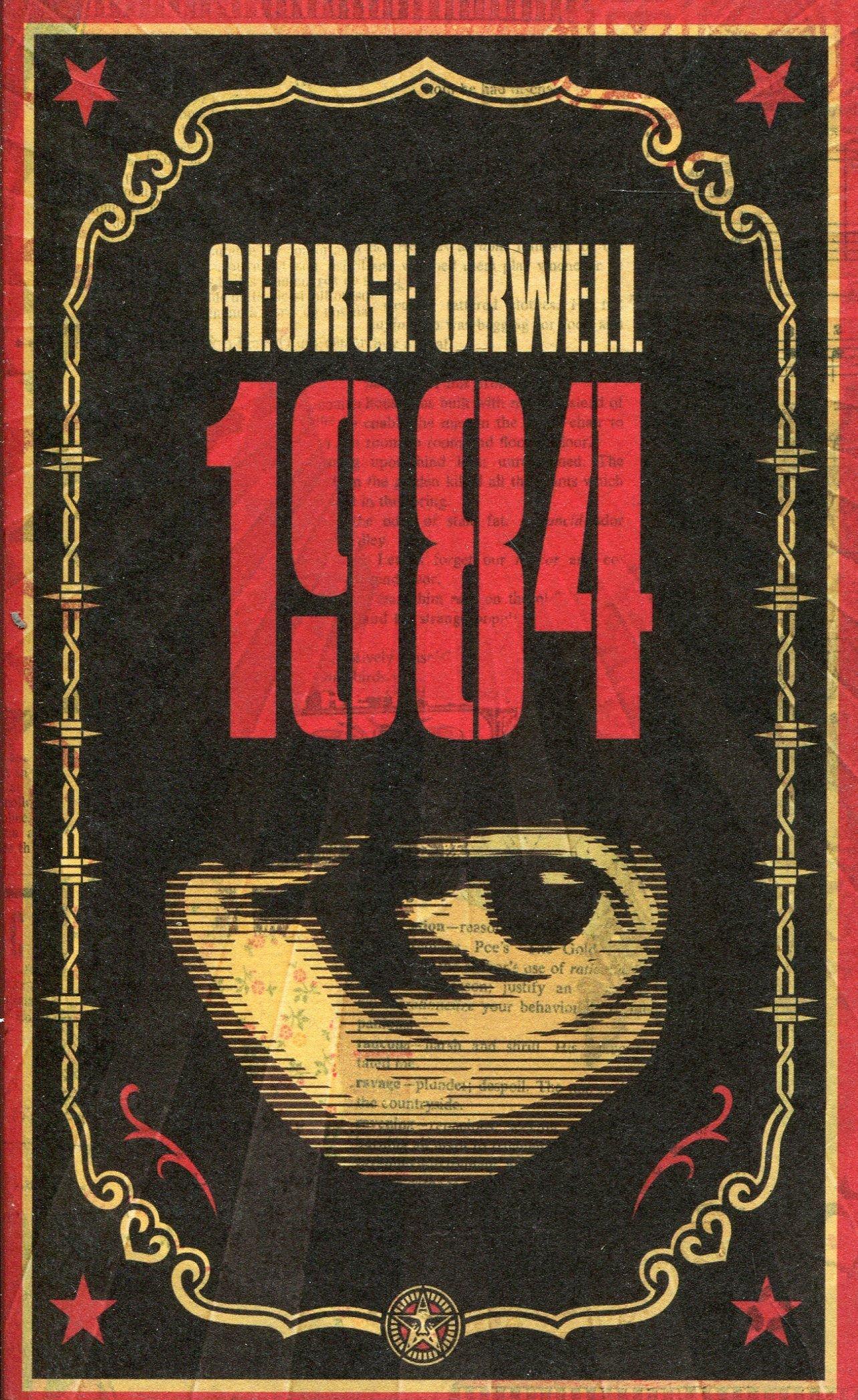 orwell rok 1984 (okładka)