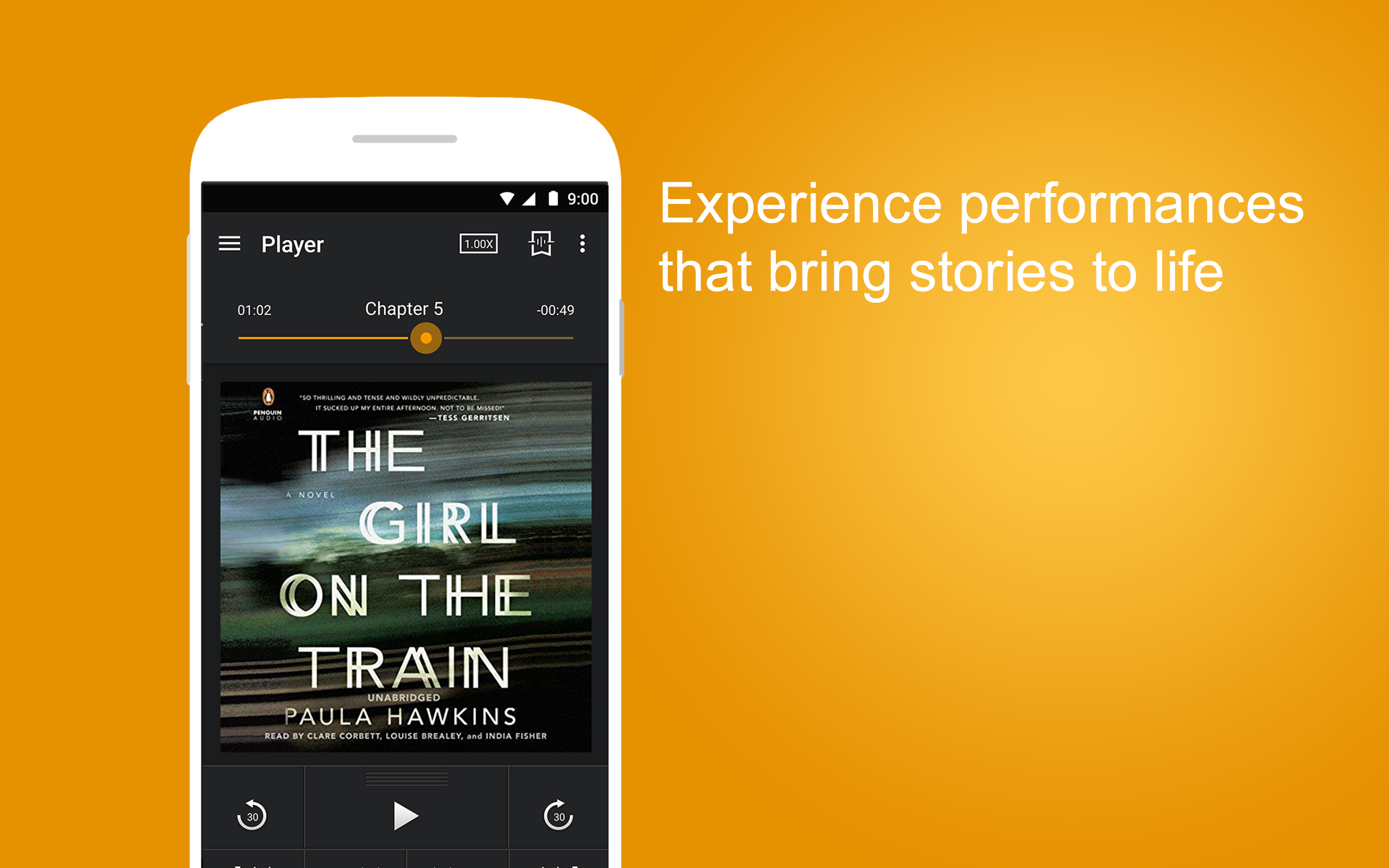 Audible - aplikacja na iPhonie