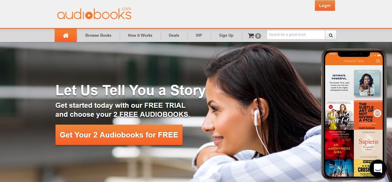 Audiobooks.com - 100, 000 audiobooków w najlepszej jakości