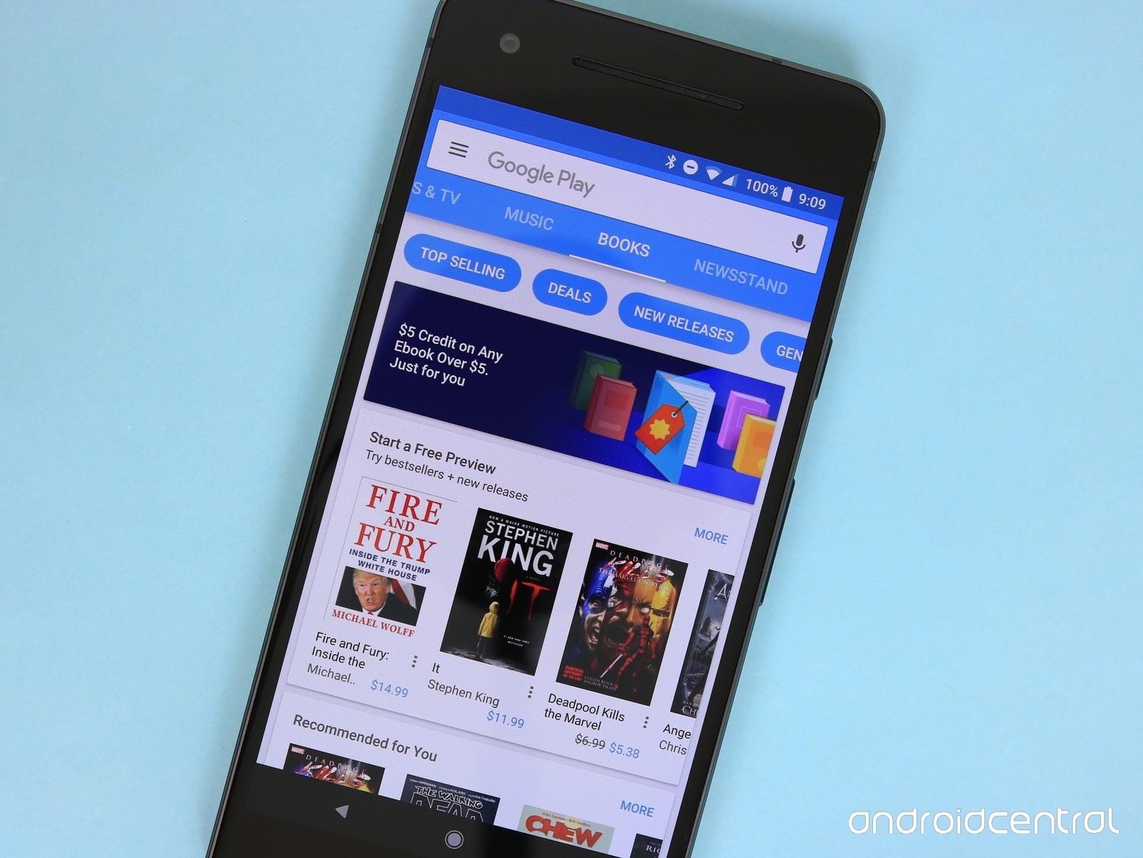 Aplikacja Google Play Books dla iPodów i iPhonów