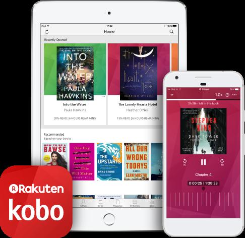 Aplikacja Kobo - audiobooki na iPadzie i iPhonie