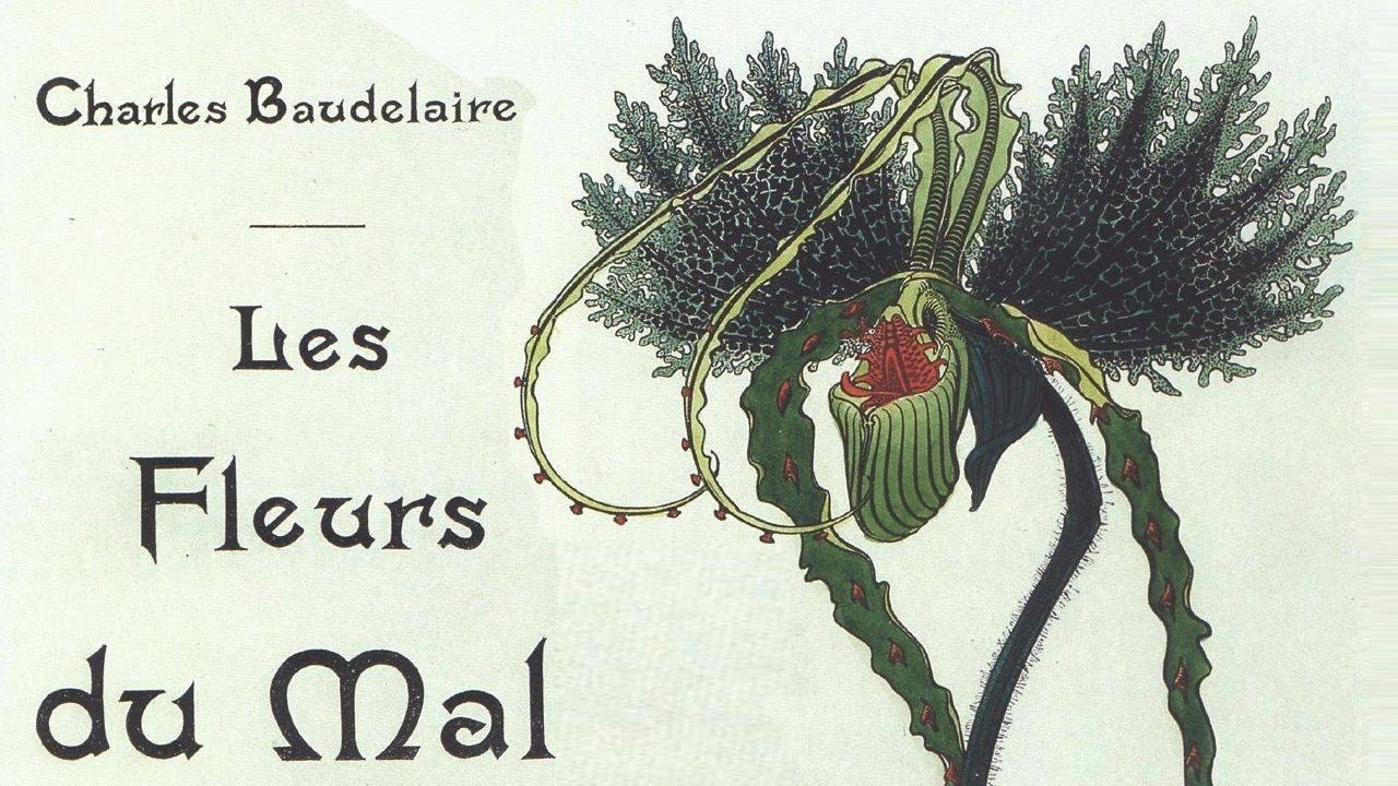 Charles Baudelaire – Kwiaty zła (francuska okładka)