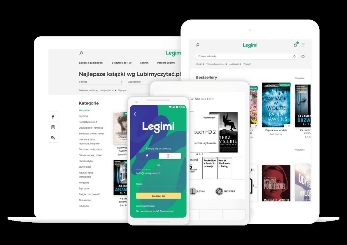 Legimi - słuchanie audiobooków na iPhonie i iPadzie