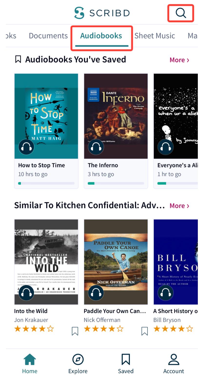 Scribd - serwis z ebookami i audiobookami
