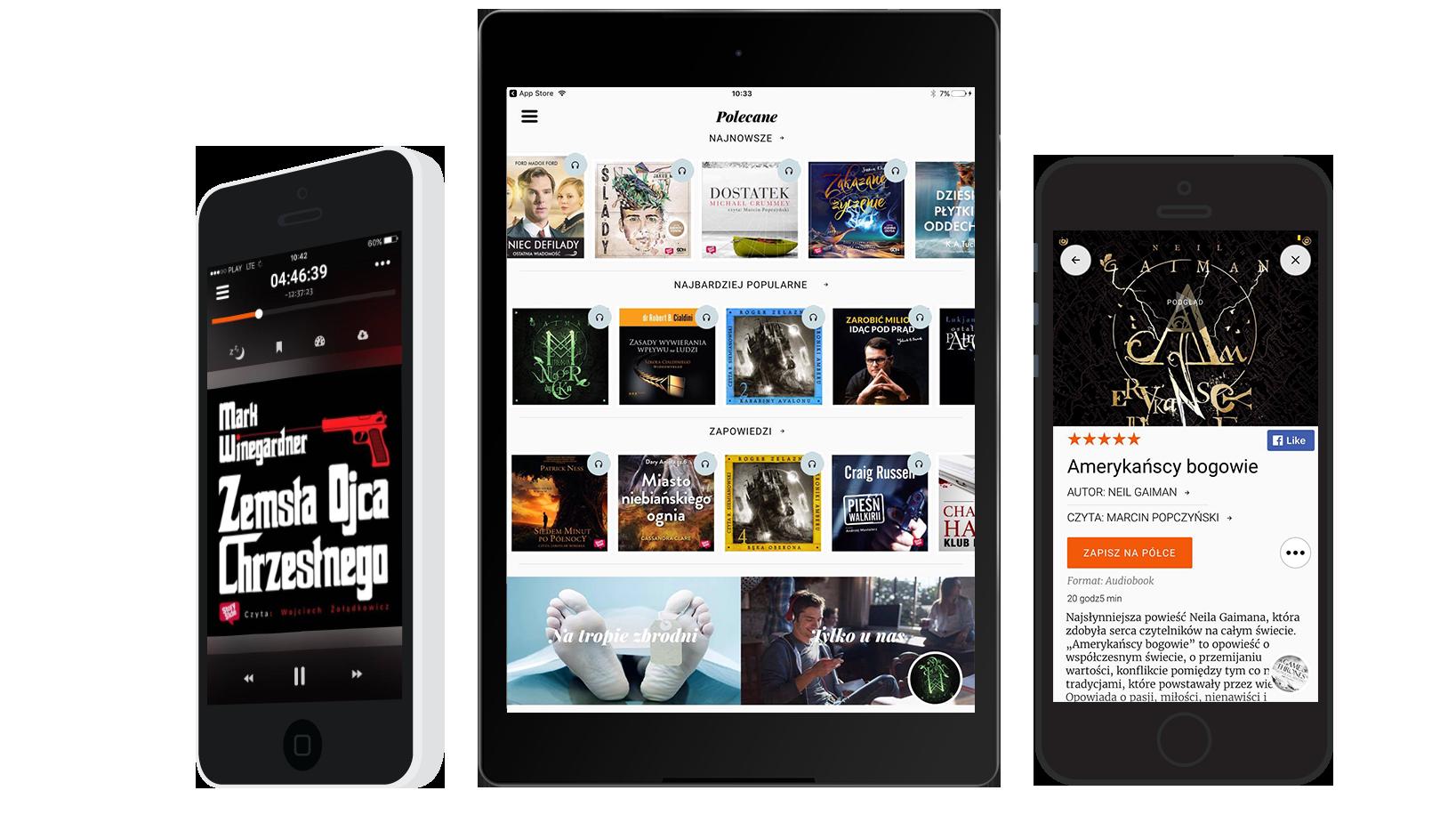 Storytel - słuchanie audiobooków na iPadzie i iPhonie