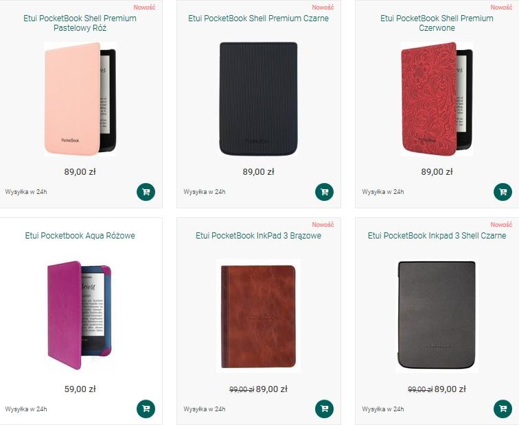 Etui na PocketBooka