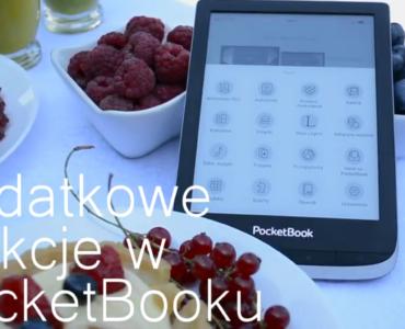 Dodatkowe funkcje czytnika PocketBook