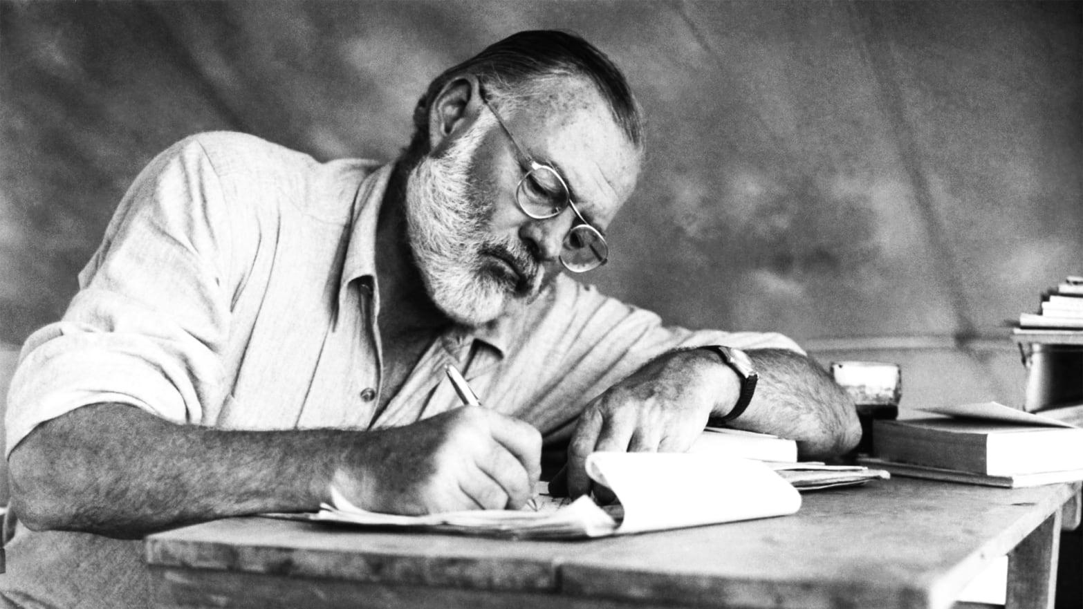 7 wskazówek dla początkujących pisarzy od Hemingwaya - www.naczytniku.pl