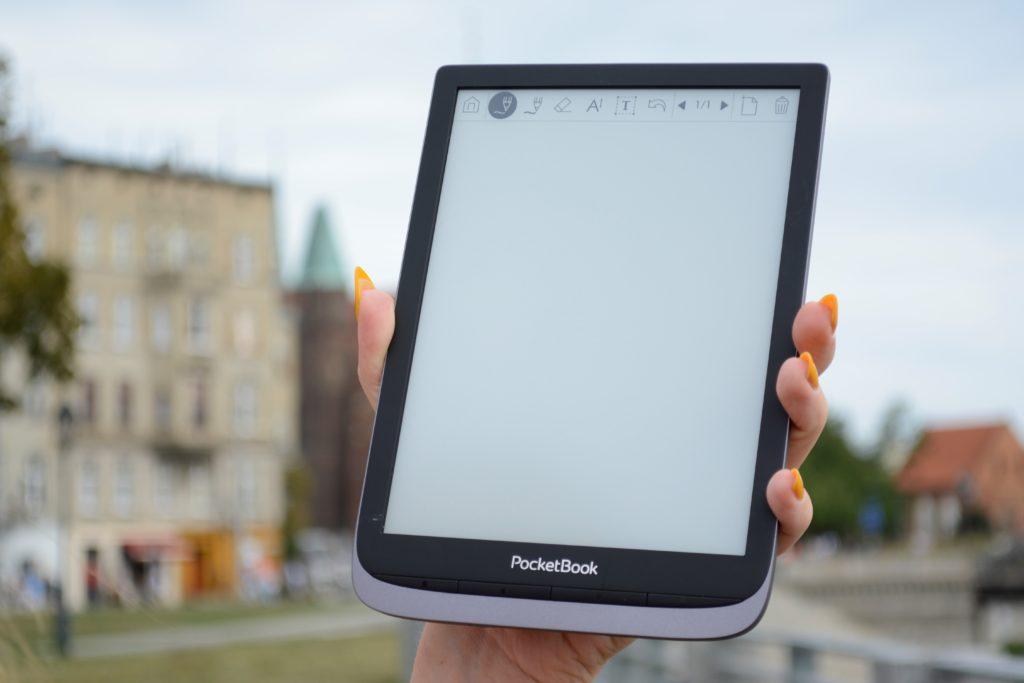 Aplikacja służąca do robienia elektronicznych notatek na PocketBooku InkPad 3 Pro