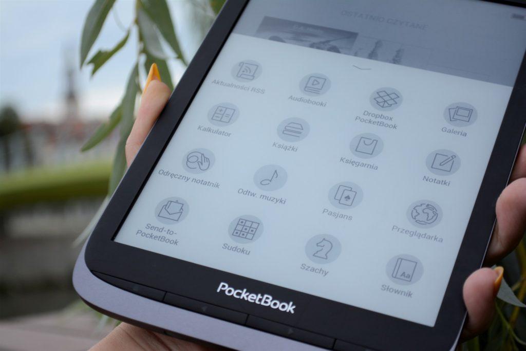 Ekran E Ink 300 PPI zapewnia obraz doskonałej jakości