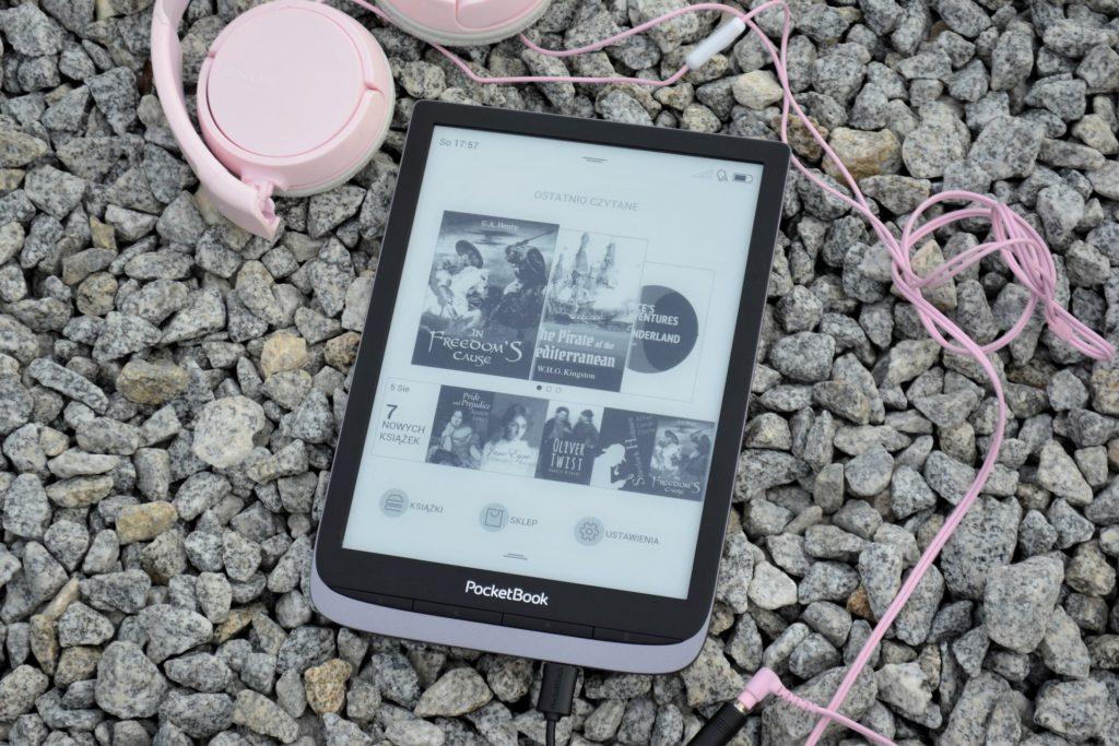 Obsługa plików audio sprawia, że PocketBook InkPad 3 Pro świetnie radzi sobie z audiobookami