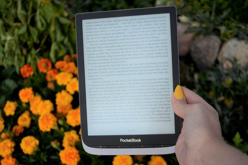 Ekran i przednia ramka PocketBooka InkPad 3 Pro