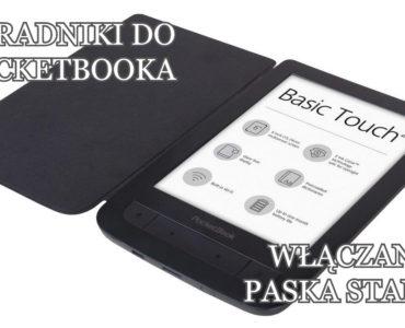 Włączanie paska stanu na czytniku PocketBook