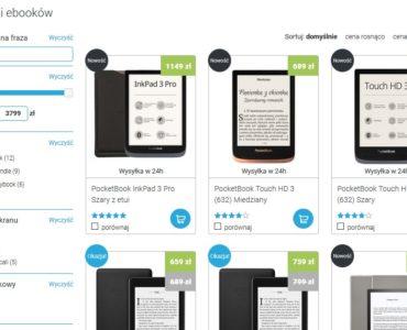 Zakup czytnika ebooków na stronie Czytio.pl
