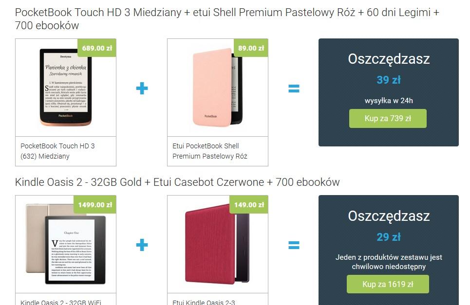 Oferty promocyjne w sklepie Czytio.pl