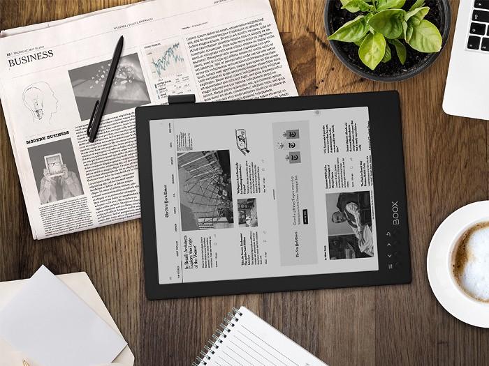Obsługa aplikacji newsowej New York Times na czytniku ebook Onyx