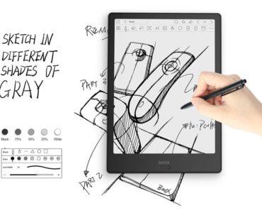 Rysowanie i robienie elektronicznych notatek na Onyx Boox Note 2
