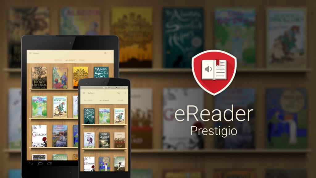 eReader Prestigio – darmowa aplikacja do czytania ebooków na smartfonie (zdjęcie główne)