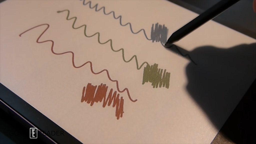 Print-Color e-paper rysowanie