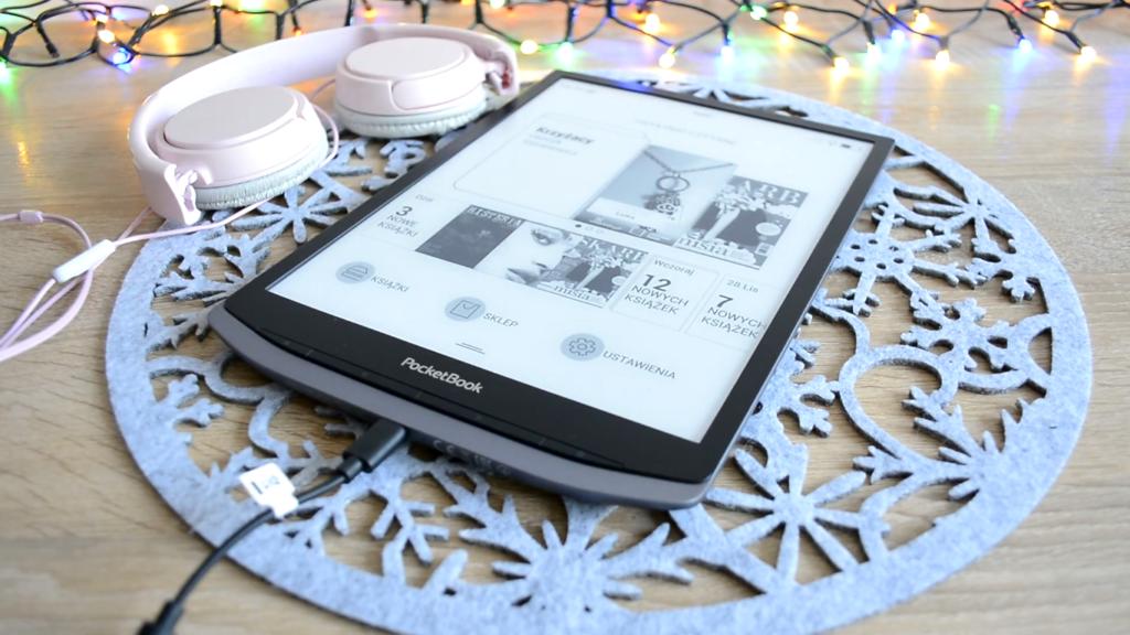 Odtwarzanie dźwięku na PocketBooku InkPad X