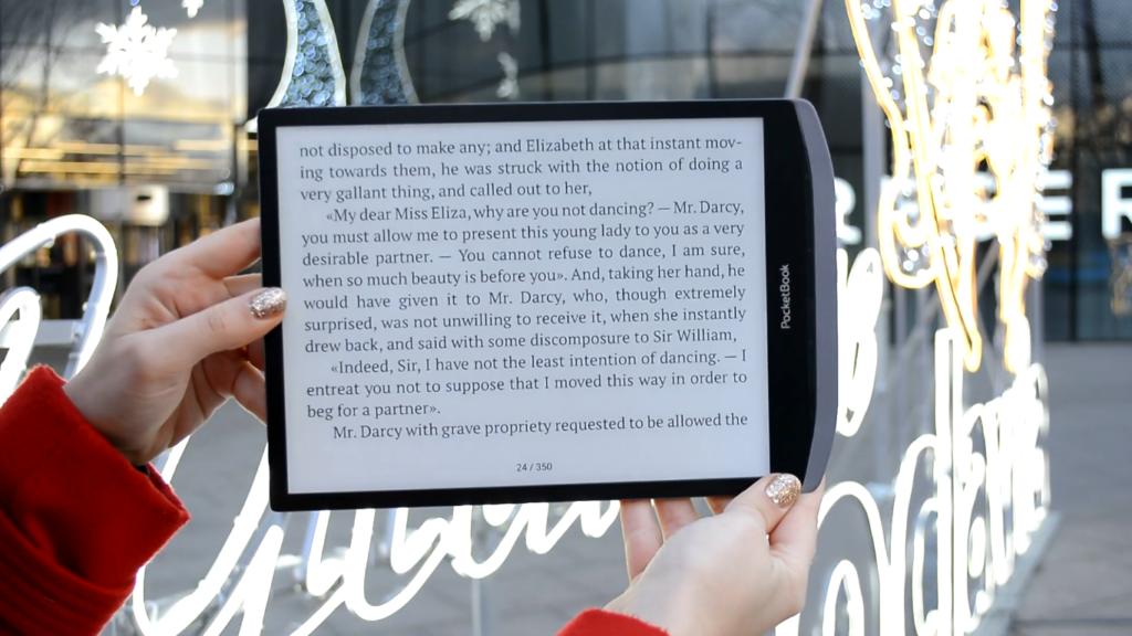 Czytanie ebooków na PocketBooku InkPad X