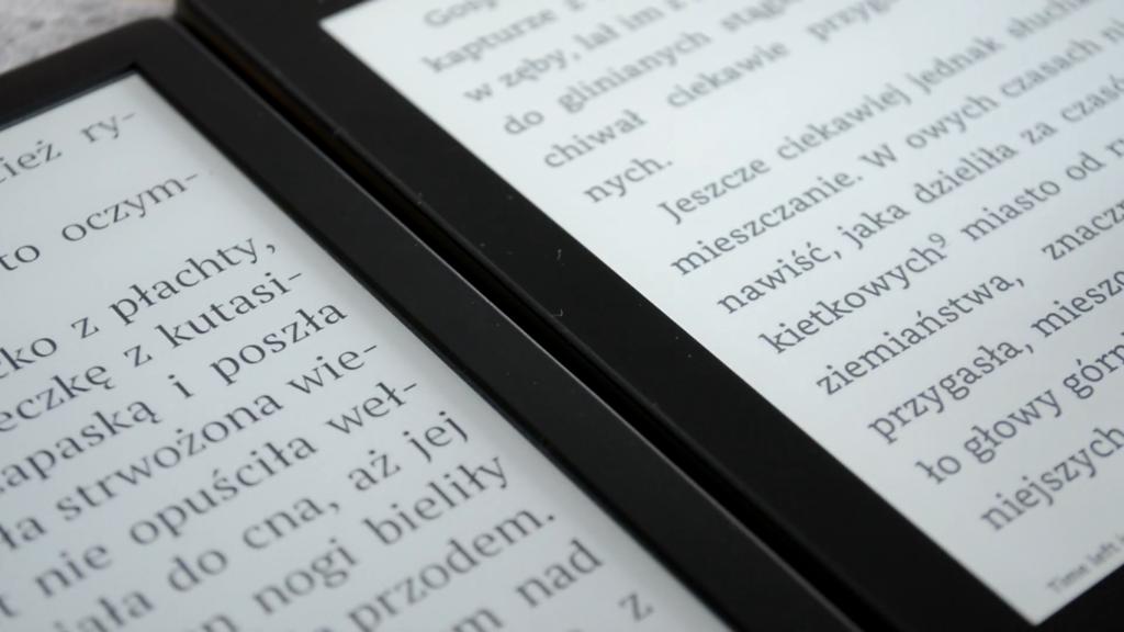 PocketBook Touch HD 3 vs Kindle Paperwhite 4 (najwyższa rozdzielczość ekranu)