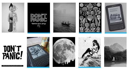 wygaszacze ekranu na Kindle na Flickr