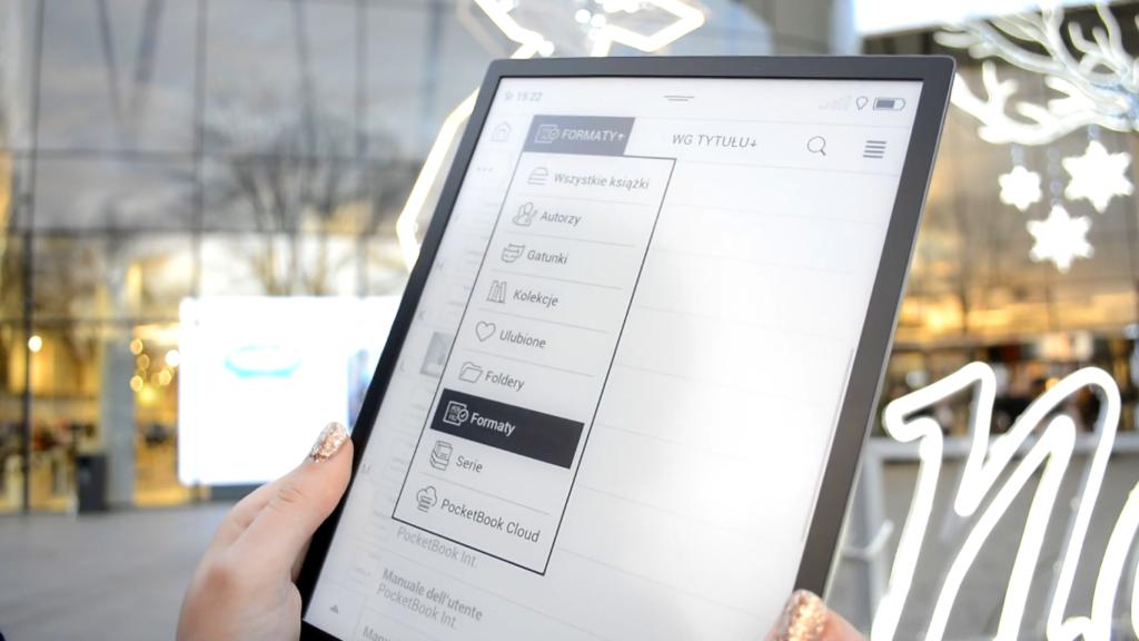 Segregowanie ebooków na PocketBooku InkPad X
