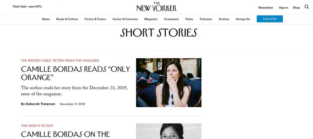 krótkie opowiadania The New Yorker