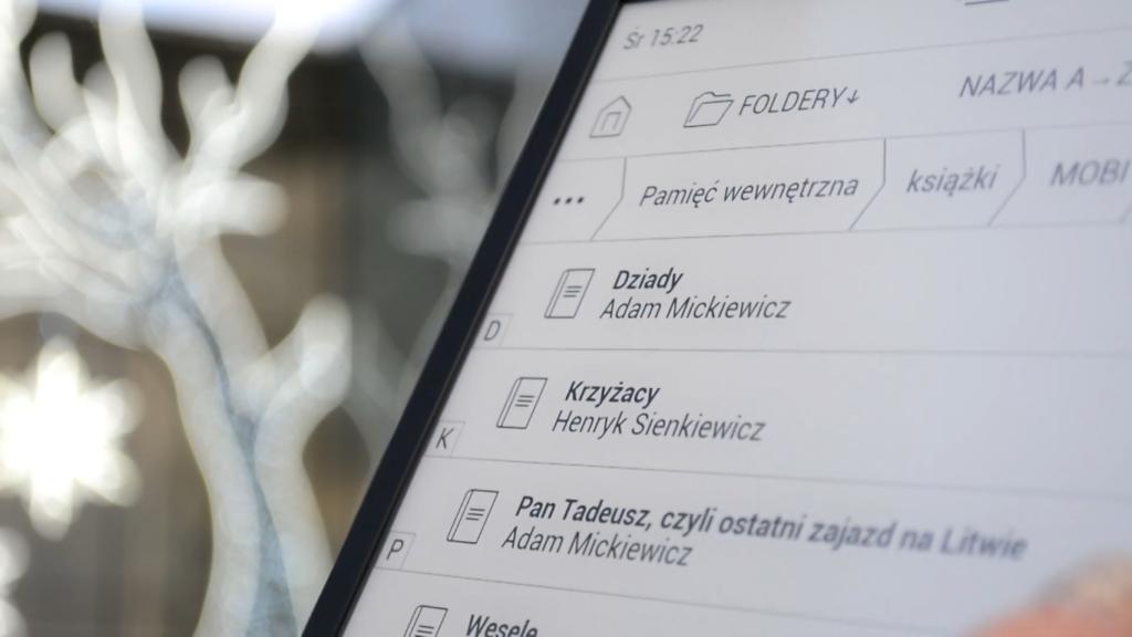 Zarządzanie ebookami na PocketBooku InkPad X