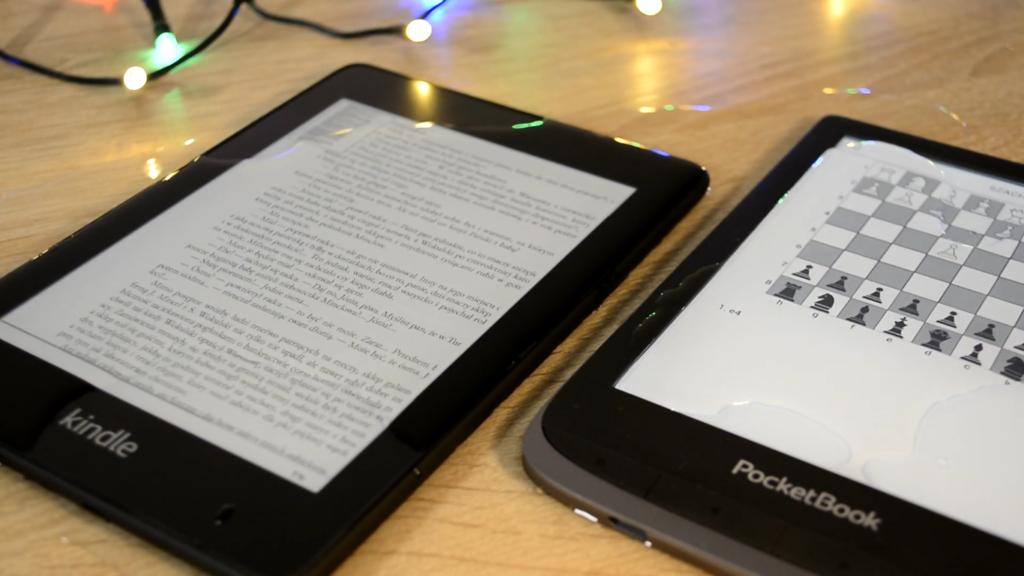 PocketBook Touch HD 3 vs Kindle Paperwhite 4 (wodoodporność)