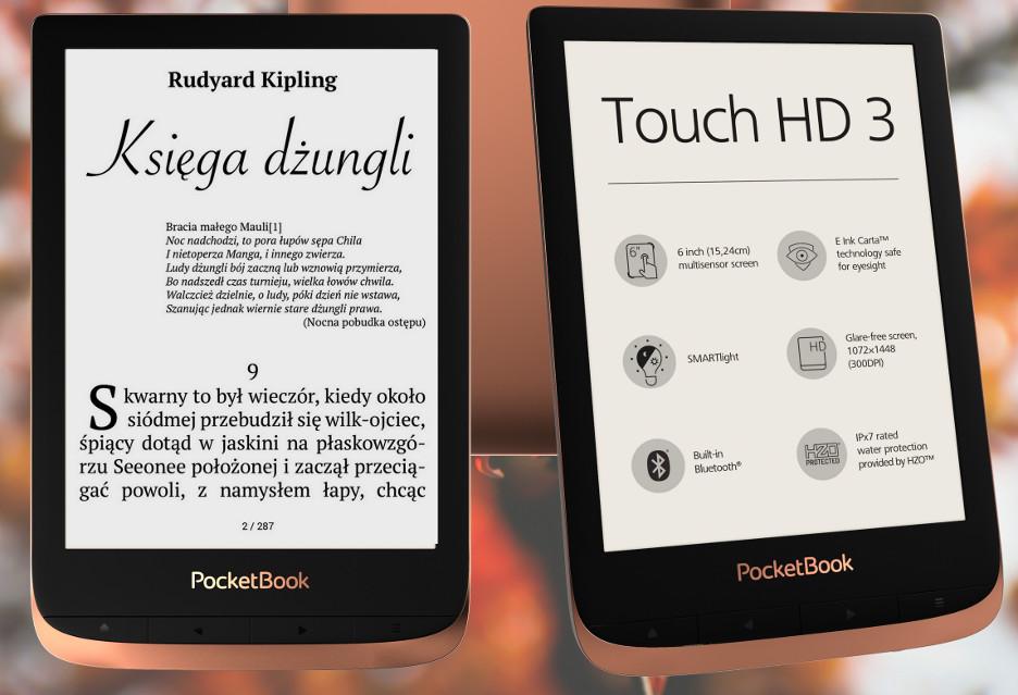 Pocketbook Touch HD 3 konkurencją dla Kindla?