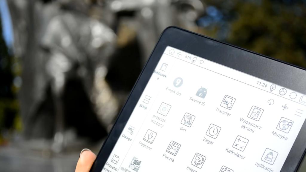 Aplikacje na czytniku Onyyx Boox Nova Pro
