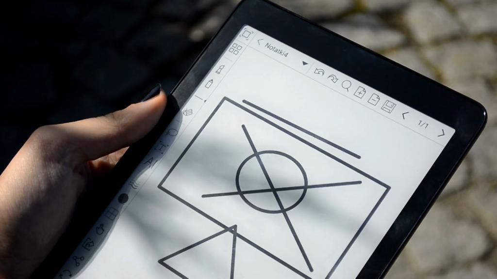 Rysowanie i robienie notatek na czytniku Onyx Boox Nova Pro
