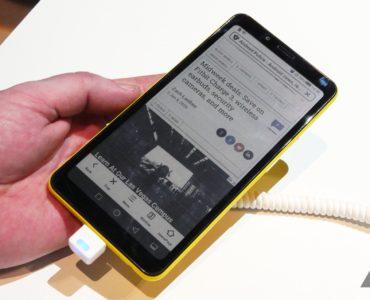 hisense pierwszy smartfon z kolorowym ekranem e ink