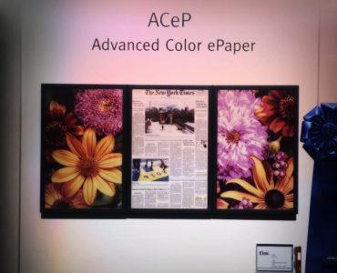 Firma E Ink rozpoczęła sprzedaż deweloperskich zestawów kolorowego e-papieru