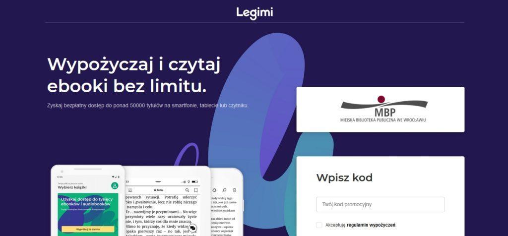 Wypożyczanie ebooków z Legimi