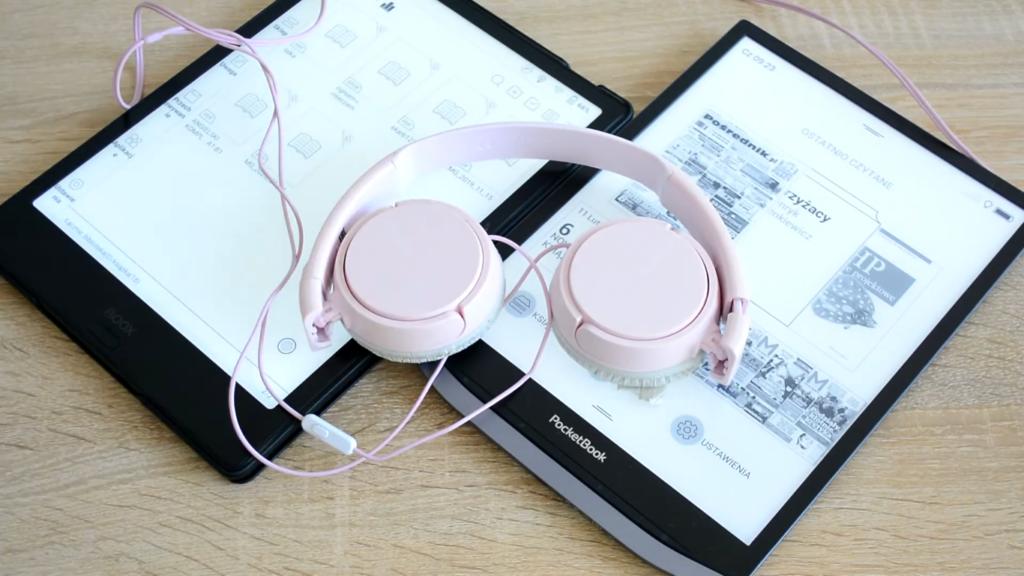 Odtwarzanie dźwięku na PocketBooku InkPad X i Onyx Boox Note 2