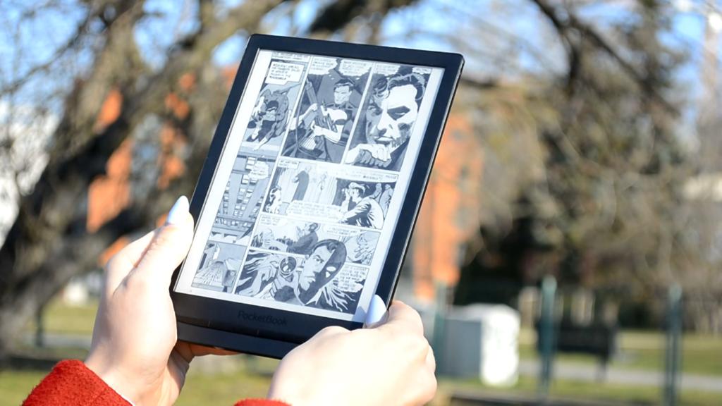 Czytanie komiksów na czytniku PocketBook