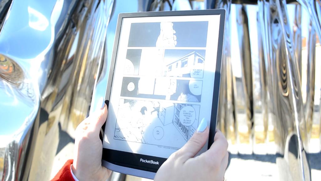 Czytanie komiksów na czytniku ebooków PocketBook