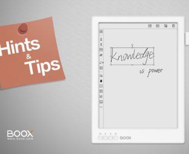 7 praktycznych funkcji czytników Onyx Boox, które musisz znać